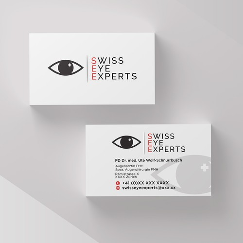 Business Card For Ophthalmologist
