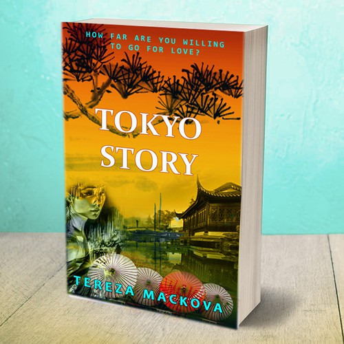 "Book cover design - book ""Tokyo Story"""