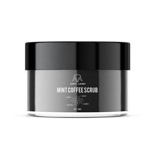 Dirty Lamb Re-Brand - Mint Coffee Scrub