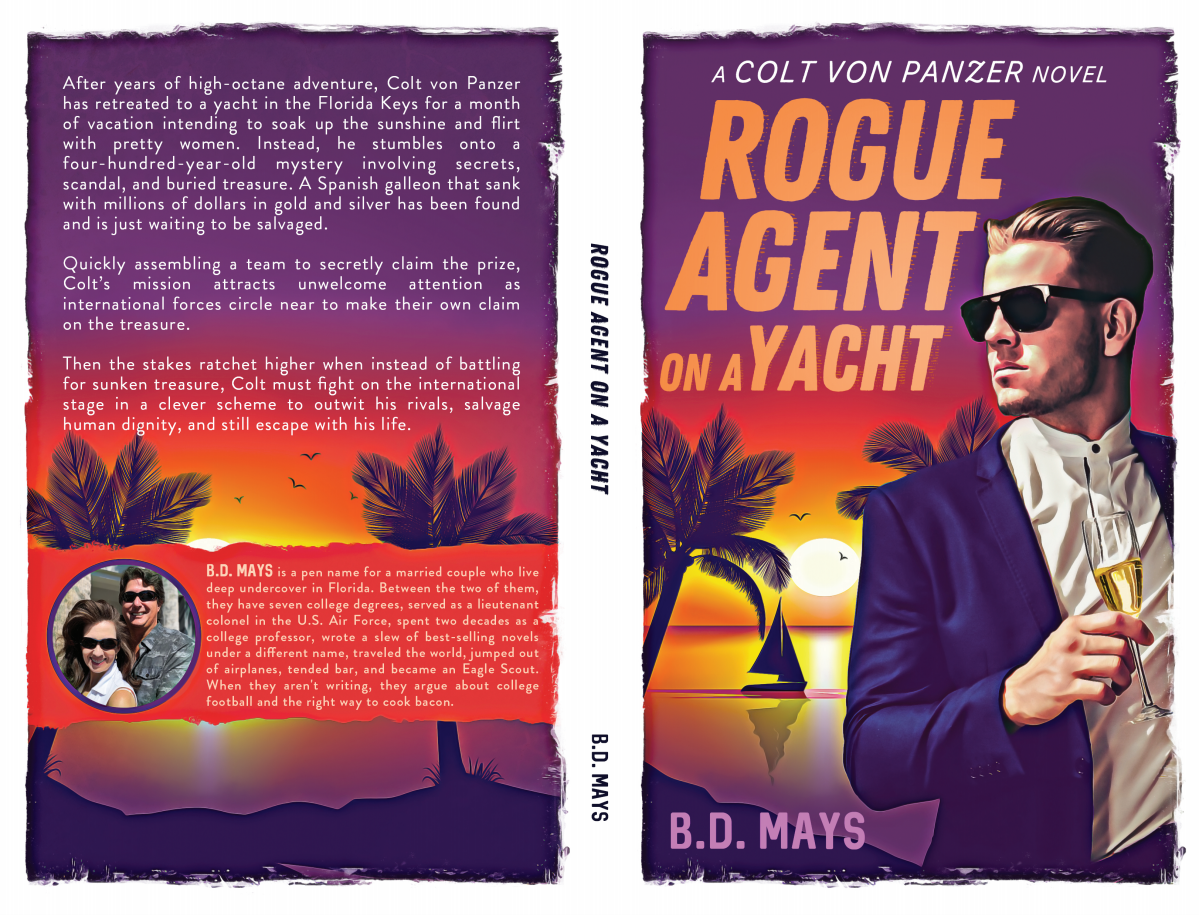 Rogue Agent on a Yacht    print version cover