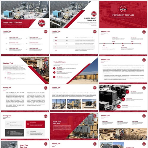 Powerpoint Template for Berry Bross