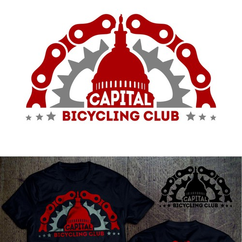 New (classic) logo for a local bicycle club