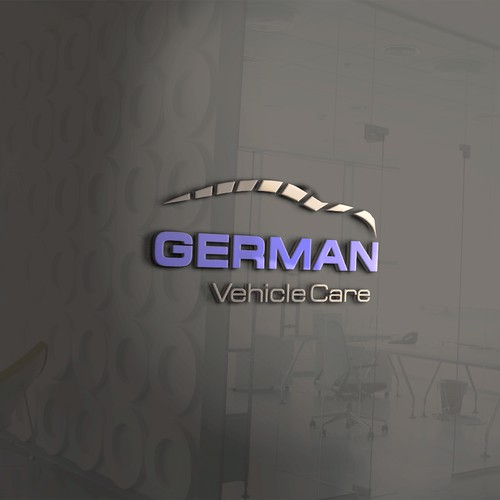 Logo concept for a vehicle care