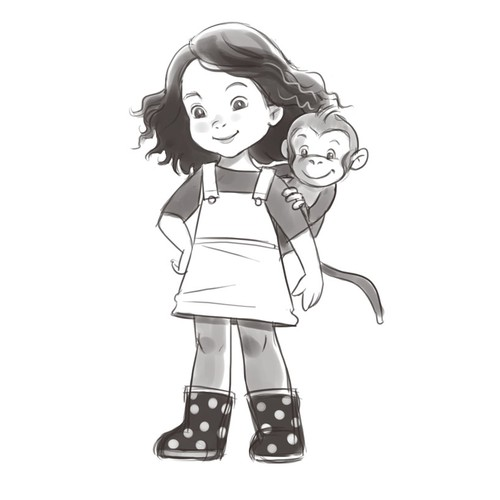 Little girl character design