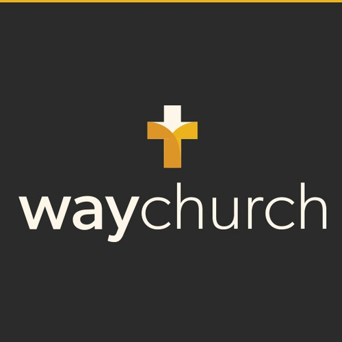 Clean church logo concept