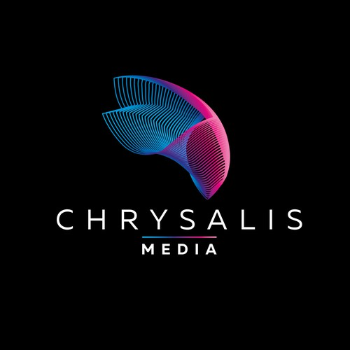Logo and brand identity for Chrysalid Media