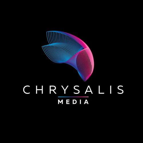 Logo and brand identity for Chrysalid Media