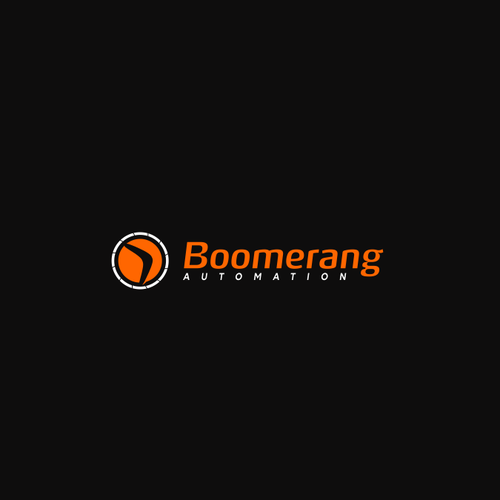 logo concept for Boomerang Automation
