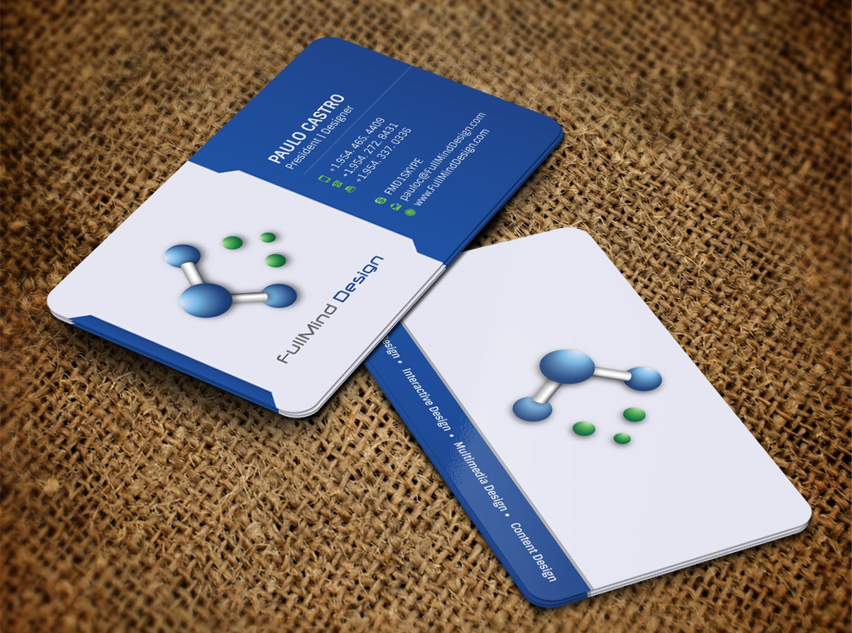 Help FullMind Design with a new business card