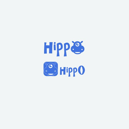 Logo for Hippo chat app