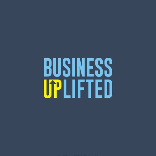 simple and profesional logo for business uplifted