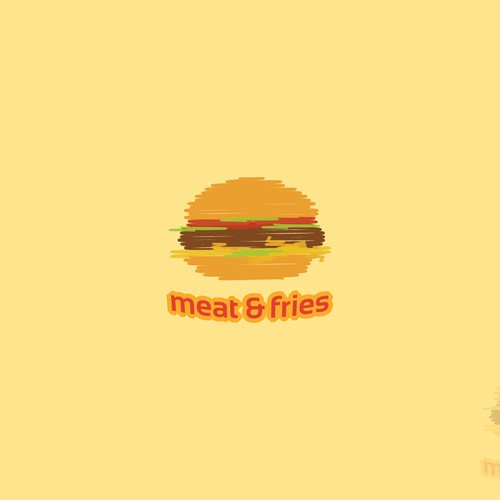 Create a captivating logo for a new gourmet fast food restaurant