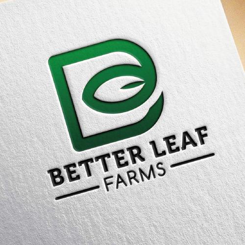 logo better leaf farm