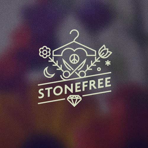 Create a sexy and free spirited logo for Stonefree