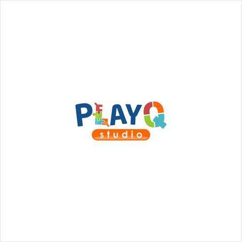 Colorful Logo for Kid's Recreational Studio