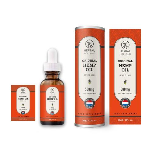 Herbal Holland Hemp Oil