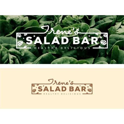 Logo for salad bar