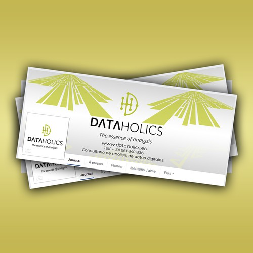 DATA HOLICS Facebook Cover