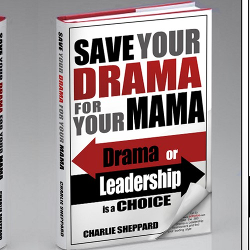 Save your Drama for your Mama ... Book Cover ... Author Charlie Sheppard