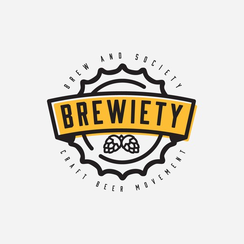 Logo for 'Brewiety' Beer Movement