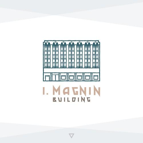 Concept Logo for I. Magnin Building