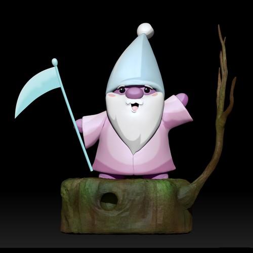 Cute 3D Gnome