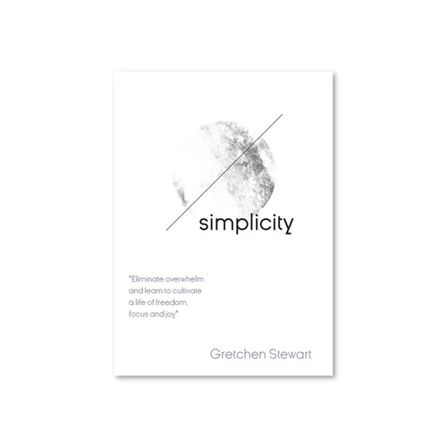 Minimalist logo for book cover