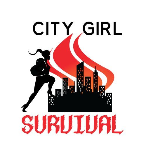 City Girl Survival Logo Design #2