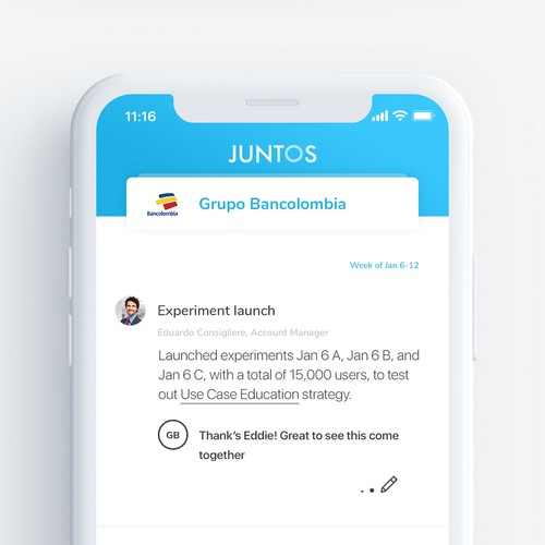 App design for financial company