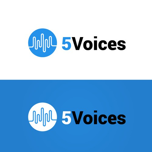 5 Voices logo