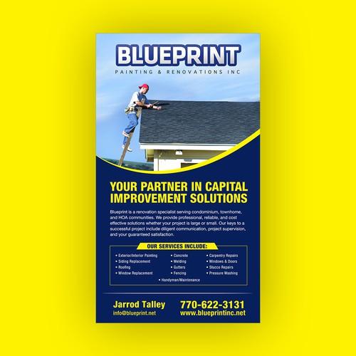 Blueprint Painting ad