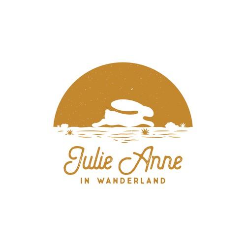 Logo concept for Julie Anne in Wanderland