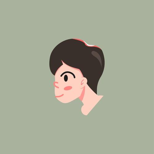 Face Mascot-Character