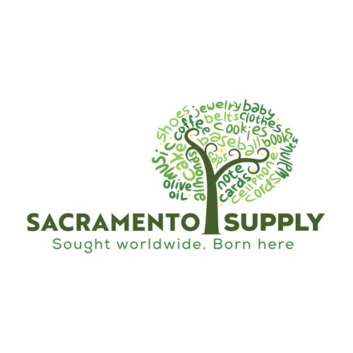 Sacramento Supply platinum logo contest