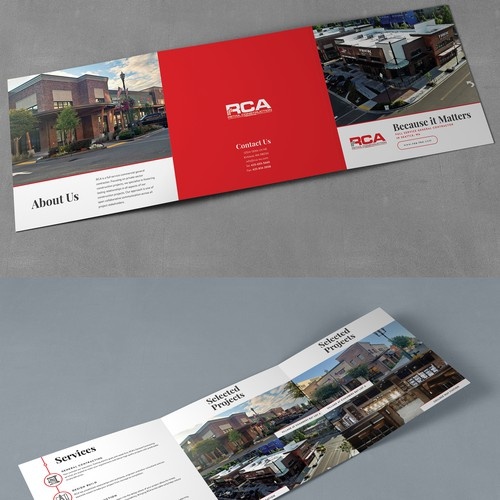 Desing Print & Email marketing material for General Contractor