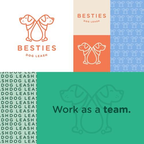 Besties - Dog Leash
