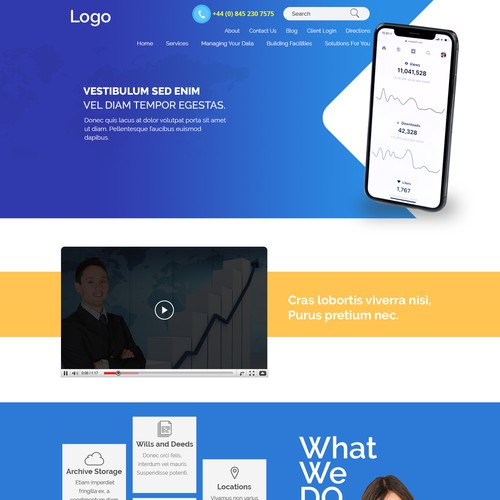 weab page design