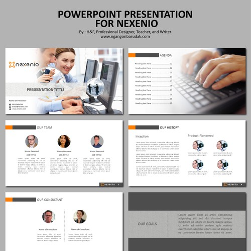 Powerpoint with three star