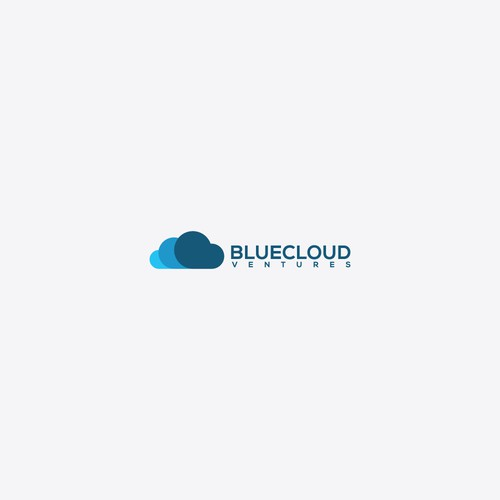 Logo to BlueCloud ventures. Golden Ratio logo design.