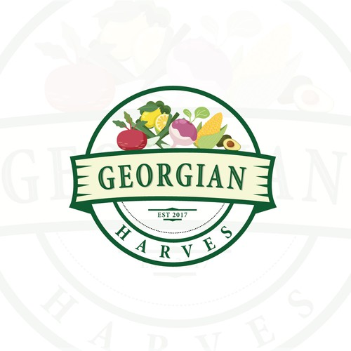 Logo concept for Georgian Harves