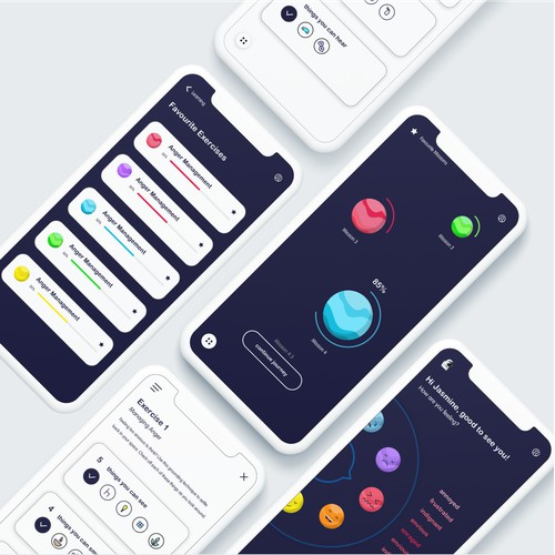 self-development UI design
