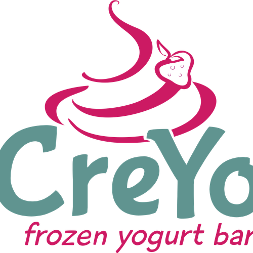 Redesign logo for CreYo frozen yogurt bar