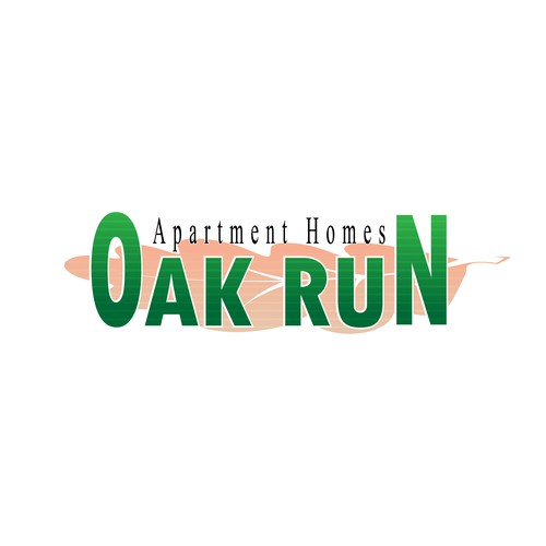 New Logo for Newly Remodeled Luxury apartment community!  Oak Run Apartments
