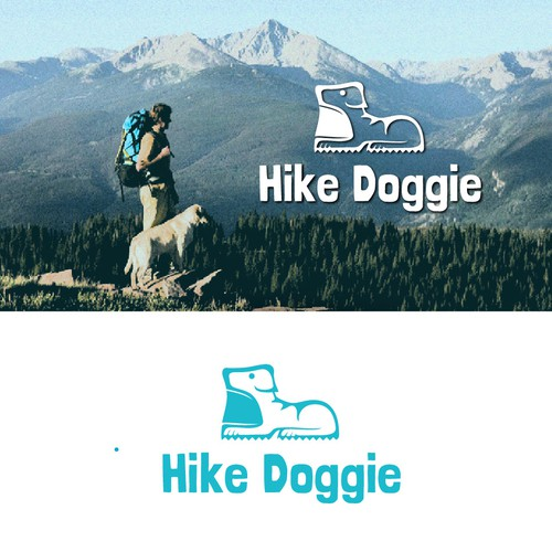 "Logo design for the "" Hike Dooggie"""
