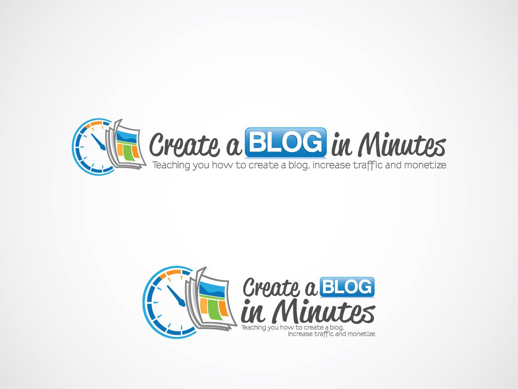 Create the next logo for Create a Blog in Minutes
