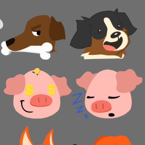 Animal emojis
