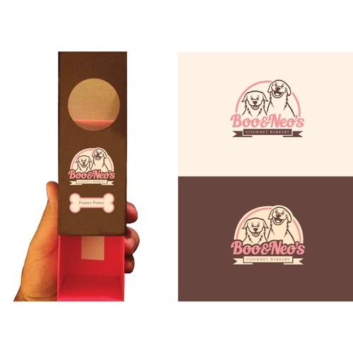 Boo&Neo's Gourmet Barkery Logo