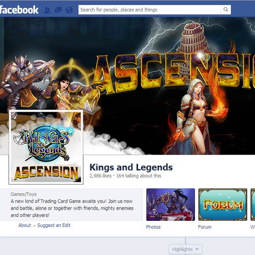 Acsension game Facebook cover