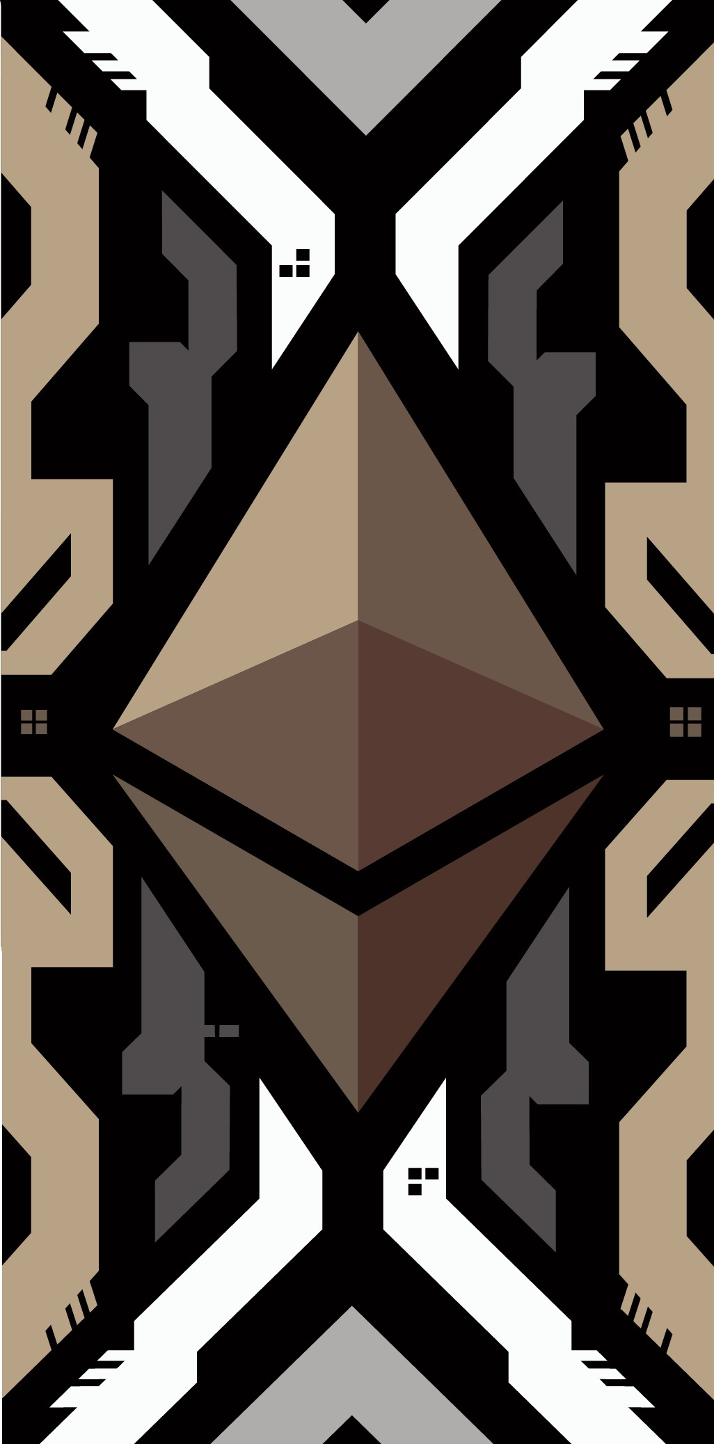 Design a Crypto-Currency Phone Case - Ethereum / Technology Inspired