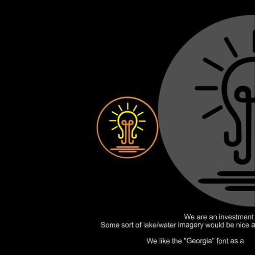 Logo design for investment firm